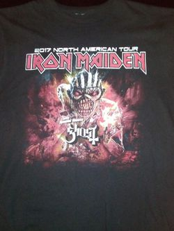 Concert T Iron Maiden 17 Soul for Sale in Everett,  WA