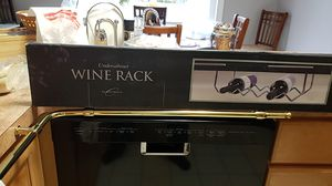 Wine rack under counter mount for Sale in Lancaster, NY