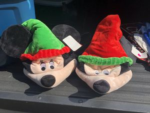 Christmas Disney Mickey and Minnie hats for Sale in Naperville, IL