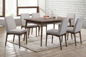 New! 7Pcs Solid wood🔥Dining Set (1Table+6Chairs) • Visit our Showroom 🛋️ or Buy 📲 Online now! • FREE financing • No credit check for Sale in Las Vegas, NV