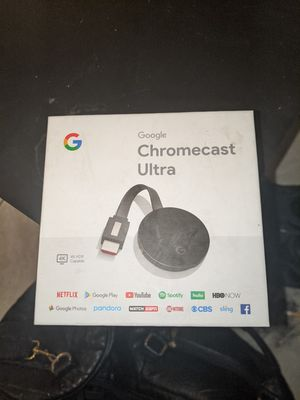 Google Chromecast Ultra for Sale in Los Angeles, CA