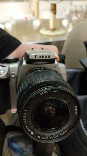 CANON REBEL XT 8 MP WITH ZOOM LENSE for Sale in Leesburg, VA