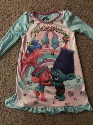 Trolls Pajama Dress-4T for Sale in Elk Grove Village, IL