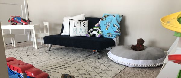 Kids Sofa Futon, Converts from Futon to Bed