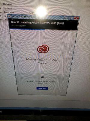 Adobe 2020 Master Creative Cloud USB for Windows 10 for Sale in Glendale, AZ