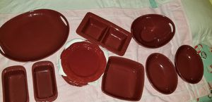 Longaberger Vitrified Pottery Serving Dishes for Sale in Victoria, VA