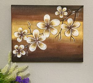 Handmade Acrylic Painting Canvas for Sale in Irving, TX