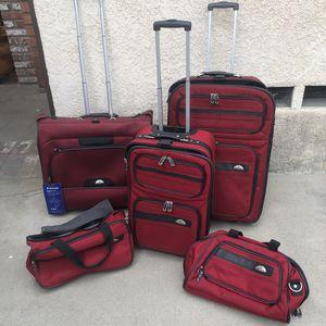 5 piece Samsonite Luggage set for Sale in Montebello, CA