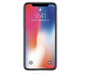 Brand new iPhone X 256GB smartphone silver (unlocked) for Sale in Seattle, WA