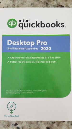 Quickbooks Desktop Pro 2020 for Sale in Spring Hill, FL