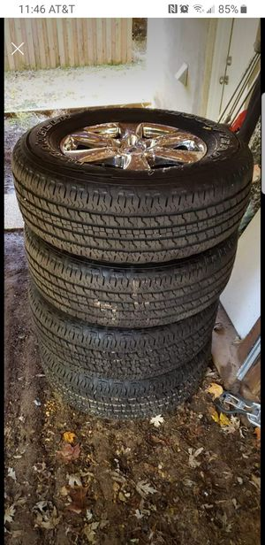 Brand new 2019 f150 chrome rims and tires. for Sale in Takoma Park, MD