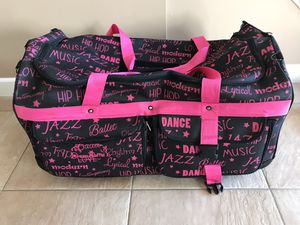 DREAM DUFFEL ROLLING DANCE BAG for Sale in Staten Island, NY