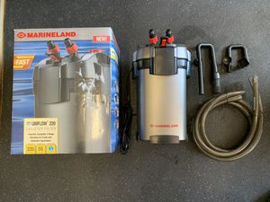 Marineland Magnaflow 220 Canister Filter for Sale in Rancho Santa Margarita, CA