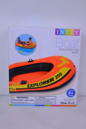 INTEX EXPLORER 200 TWO PERSON INFLATABLE BOAT for Sale in San Diego, CA
