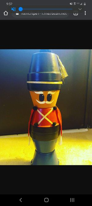 Clay Pot Soldier for Sale in Palm Harbor, FL