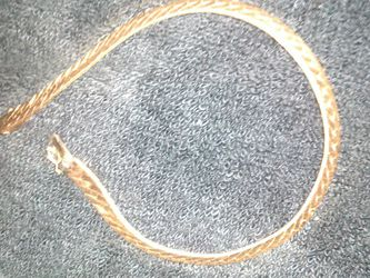 14k bracelet solid gold for Sale in Stoughton,  MA