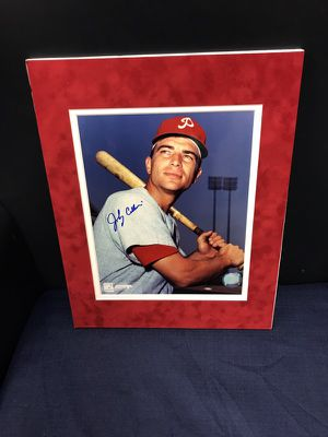 Autographed Johnny Callison, OF, Philadelphia Phillie, 1964 Phillies MVP, 1964 All Star Game MVP! for Sale in Fairfax, VA