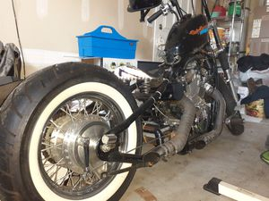 Honda Shadow hardtail Bobber for Sale in Tacoma, WA