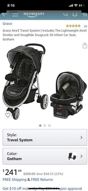 Graco Aire3 Travel system for Sale in San Diego, CA