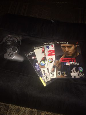 Couple games and controller for ps2 for Sale in Columbus, OH