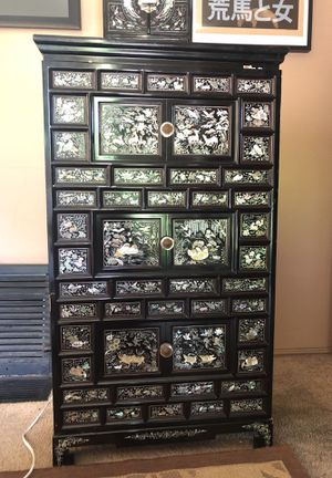 Pair of antique dressers and jewelry box for Sale in Arcadia, CA