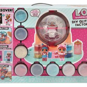 NEW HOT TOY ITEM L.O.L. Dolls Glitter Factory for Sale in Pompano Beach, FL