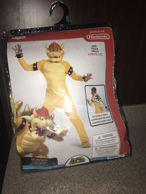 Halloween dragon BowserNintendo large 10-12 for Sale in San Diego, CA