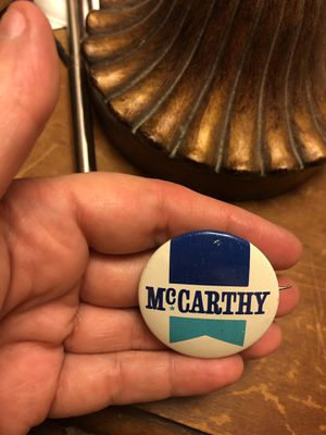 1968 vintage McCarthy presidential pin button for Sale in Portland, OR