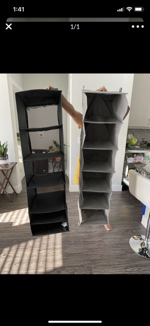 Large size foldable closet organizer for Sale in Coppell, TX