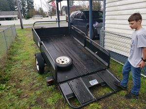 8 x 4 1/2 trailer for Sale in Elma, WA