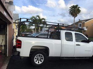 Aluminum ladder rack of my #ilverado clamps down paid $1200 2 yrs ago for Sale in Miami, FL