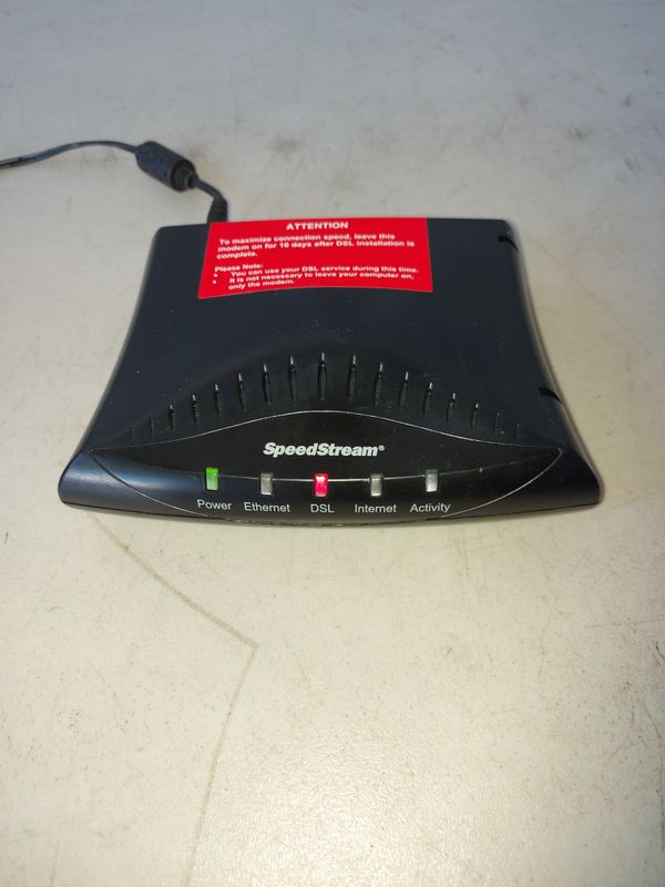Speedstream 5100 Ethernet ADSL Modem Internet