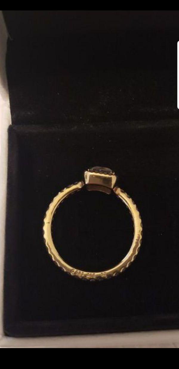 Pandora 14kt gold timeless ring