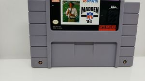SUPER NINTENDO MADDEN 94 NFL for Sale in St. Louis, MO