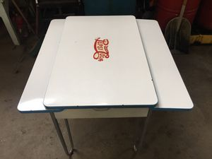 Antique Porcelain Top Table for Sale in Mount Vernon, OH