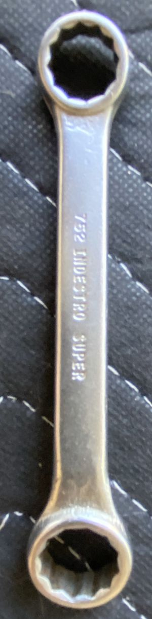"""Vintage Indestro Super Tools No. 752 Short Double Box End Wrench 1/2"""" x 9/16"""" for Sale in Bradenton, FL"""
