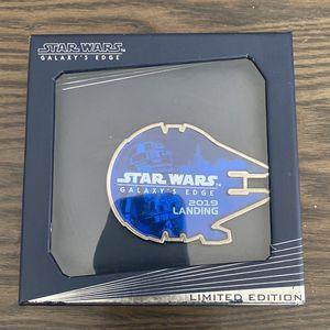 Disney Star Wars Galaxy's Edge Millennium Falcon 2019 Landing Pin for Sale in La Mesa, CA