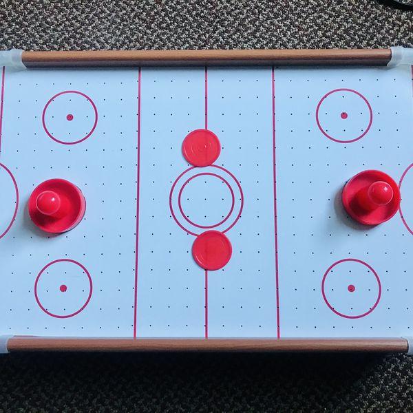 Glow Air Hockey Table
