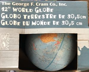 """George f cram 12"""" globe 🌎 new in box for Sale in Los Angeles, CA"""