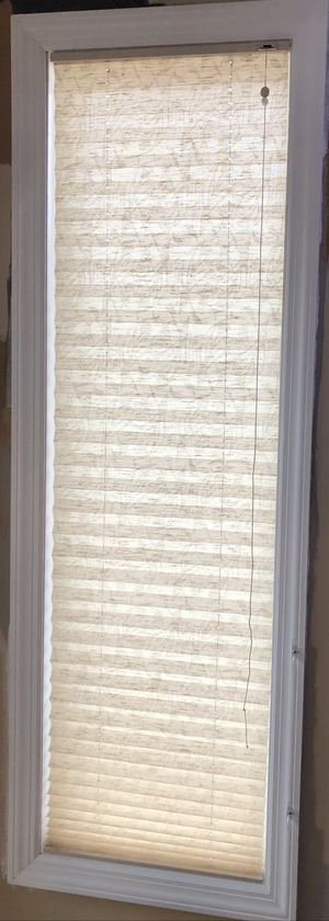 Pleated blinds For Sliding Doors, Side Panels And Over The Sink for Sale in Hicksville, NY