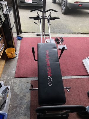 Total gym club 1700 for Sale in Saugus, MA