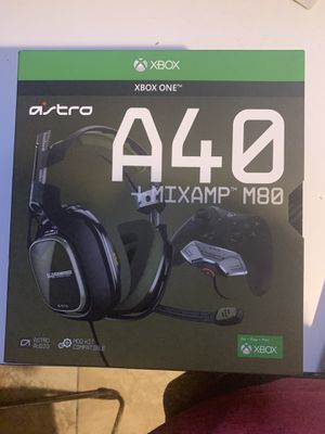 Astro A40 +MixAmp M80 for Sale in Newark, NJ