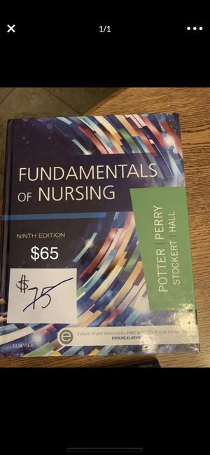 Fundamentals of nursing ninth edition Nursing school book FIRM $65 for Sale in Gilbert, AZ
