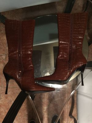 Crocodile leather boots for Sale in Las Vegas, NV
