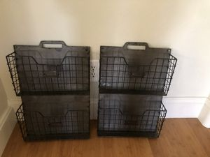 2 Wire Wall File Holders for Sale in Mission Viejo, CA