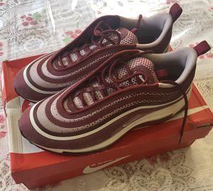 Nike Air Max 97 Ultra 17 Men's 9 Team Red White Running Shoes 918356-601 for Sale in San Leandro, CA
