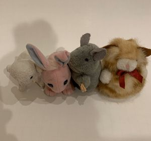 Small stuffed animals, 3 inches for Sale in Lucas, TX