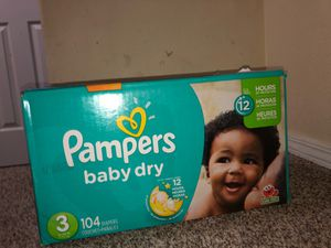 Pampers Diapers 104 Ct for Sale in Hillsboro, OR