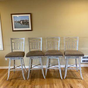 Swivel Bar Chairs / Stools Tan / Beige for Sale in Bellevue, WA