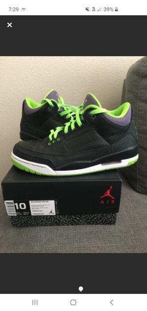"Jordan 3 ""joker"" for Sale in Fairfield, CA"